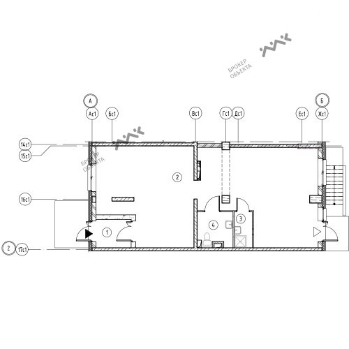 Планировка Лагоды ул., к.7, лит.А. Лот № 11669417
