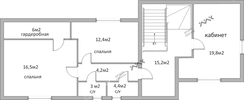 Планировка Загородная ул., д.4. Лот № 3501836