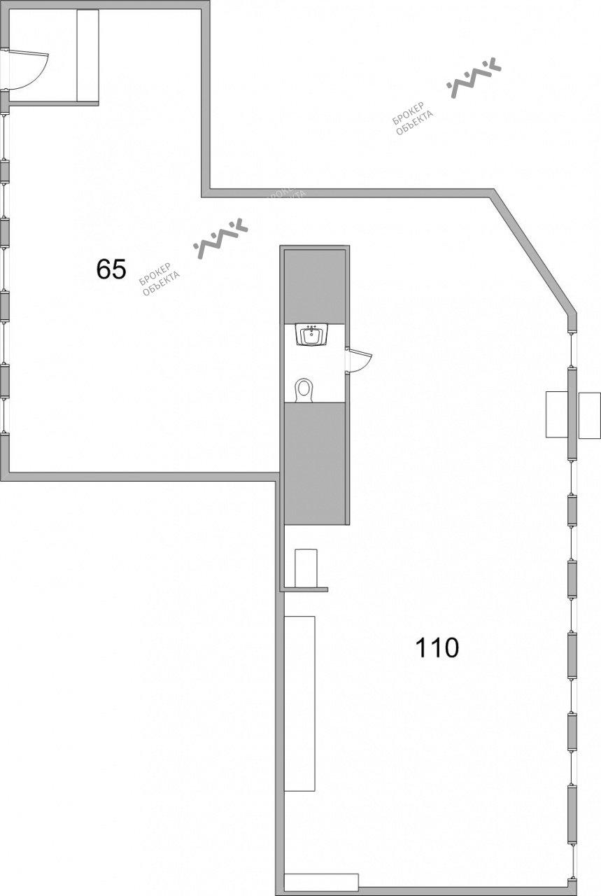 Планировка Старо-Петергофский пр., д.41. Лот № 1548607