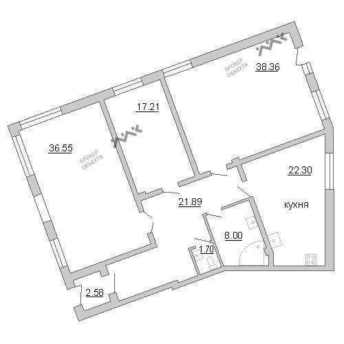 Планировка Пионерская ул., д.50. Лот № f3267832