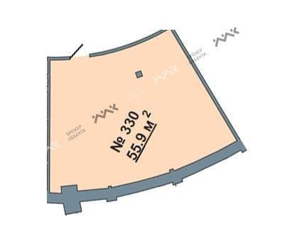 Планировка Большая Посадская ул., д.12. Лот № 1076997