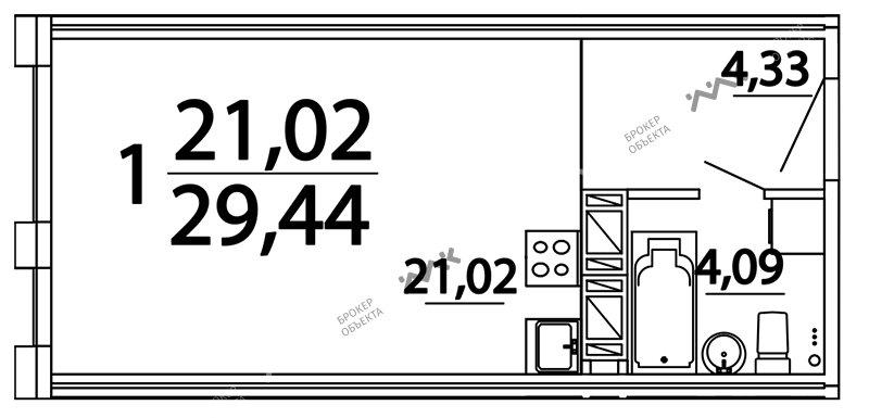 Планировка Александра Невского пл., д.10. Лот № f3262815