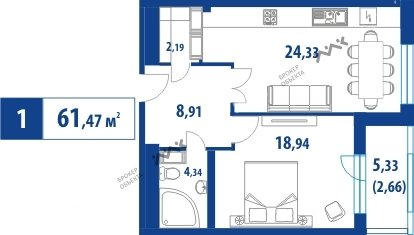 Планировка Спортивная ул., д.44. Лот № f3263285