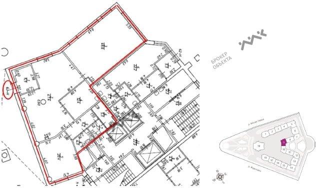 Планировка Ждановская ул., д.45. Лот № 12591259