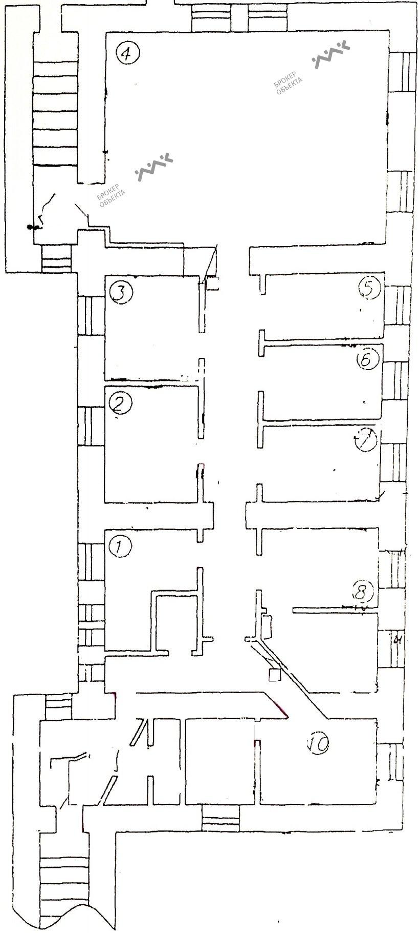 Планировка Рузовская ул., д.5. Лот № 2315468