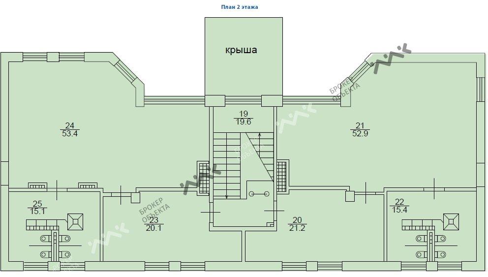 Планировка Рыбацкий проспект, д.18, к.2. Лот № 1612415