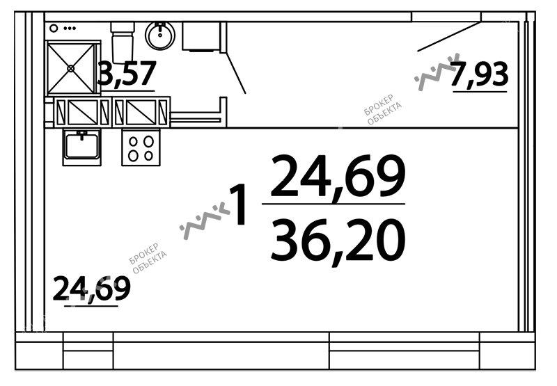 Планировка Александра Невского пл., д.10. Лот № f3262724