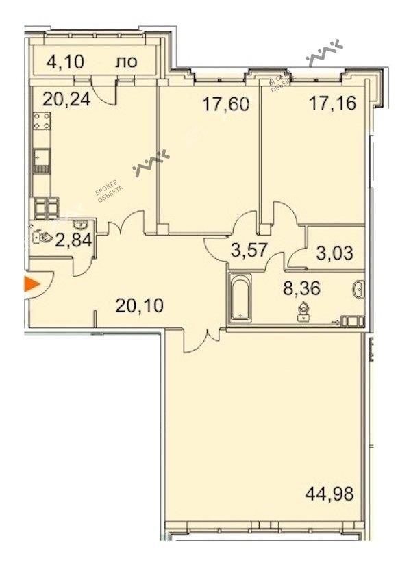 Планировка Московский проспект. Лот № f18237015