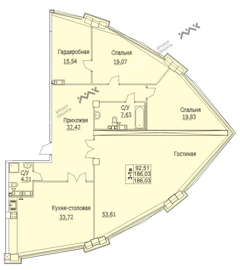 Планировка Пионерская ул., д.50. Лот № f3267817