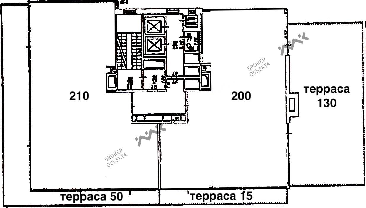 Планировка Ушаковская наб., д.3, к.2. Лот № 2042761