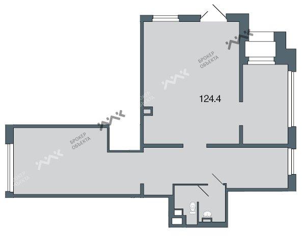Планировка Полтавская ул., д.7. Лот № 1082280