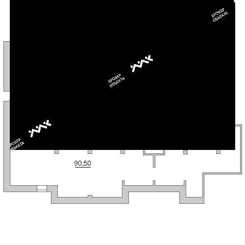 Планировка Глухая Зеленина ул., д.4. Лот № 1090327