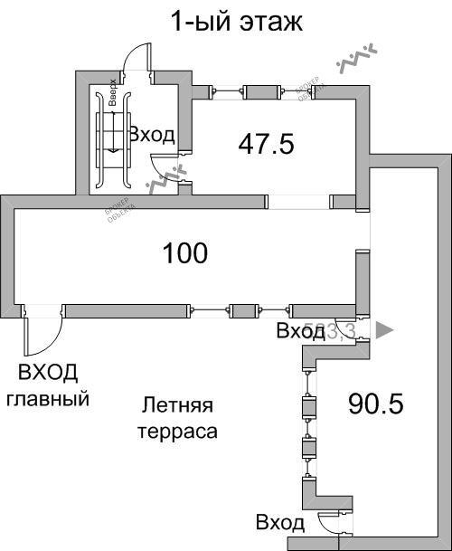 Планировка Гороховая ул., д.3. Лот № 1847977