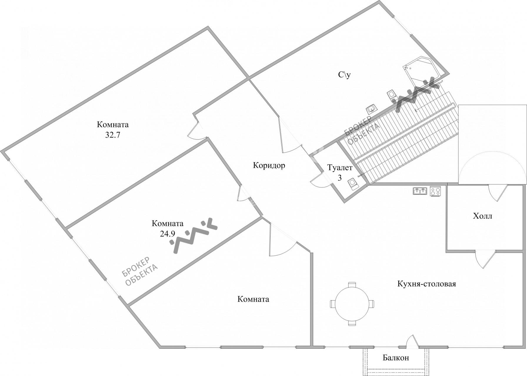 Планировка Невский проспект, д.11. Лот № 4512795