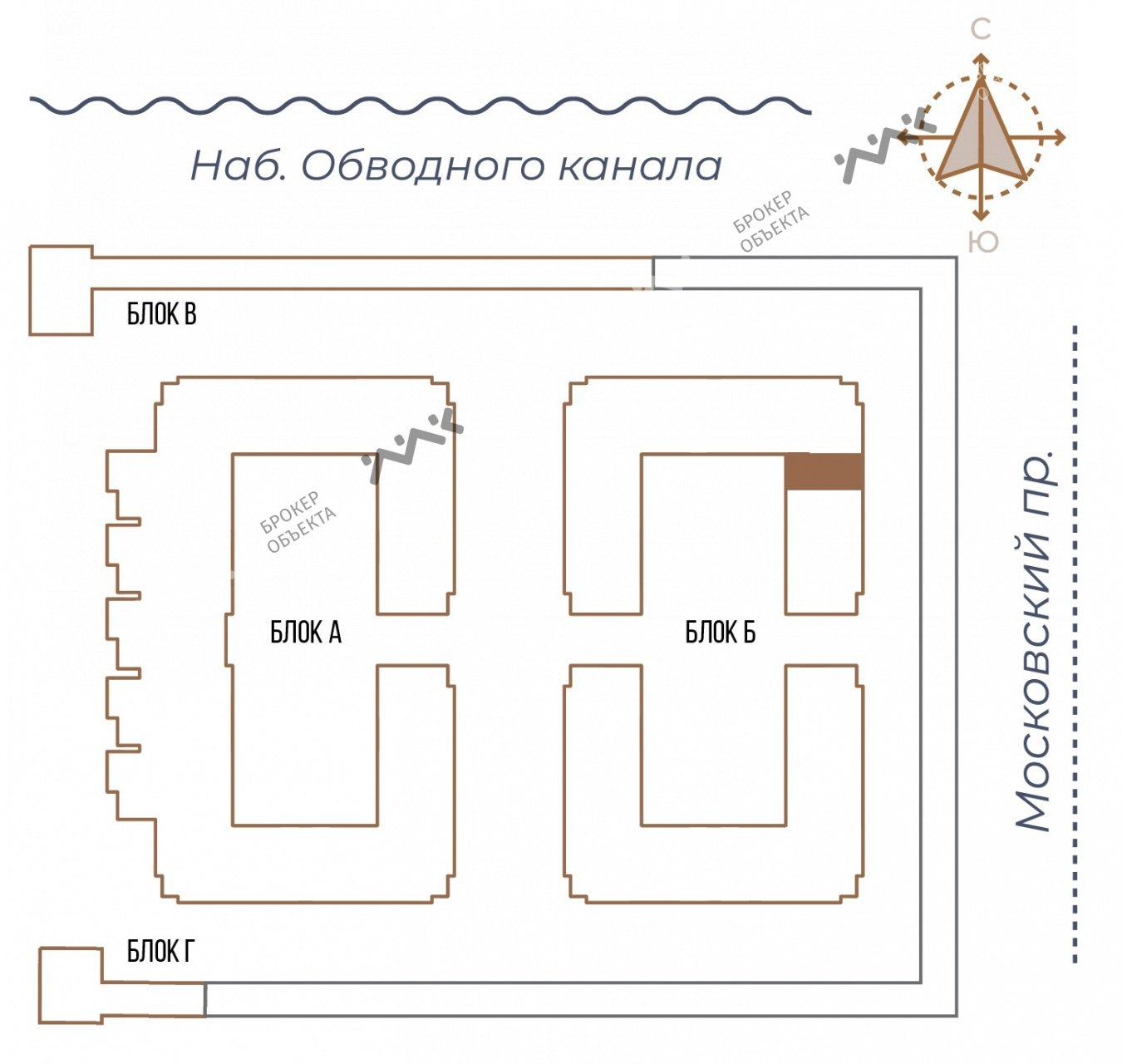 Планировка Московский проспект, д.65. Лот № 27731534