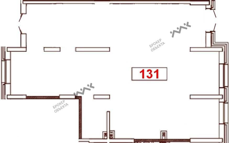 Планировка Варшавская ул., д.6, к.1. Лот № 865465