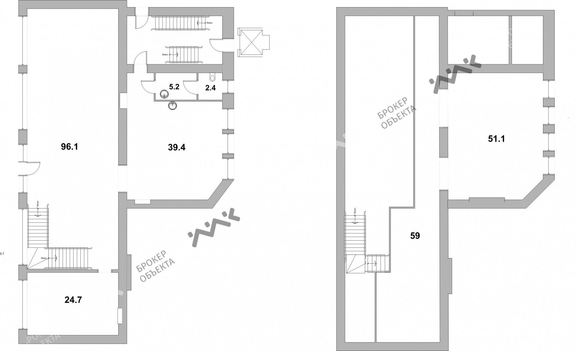Планировка Смольный проспект, д.6. Лот № 8044569