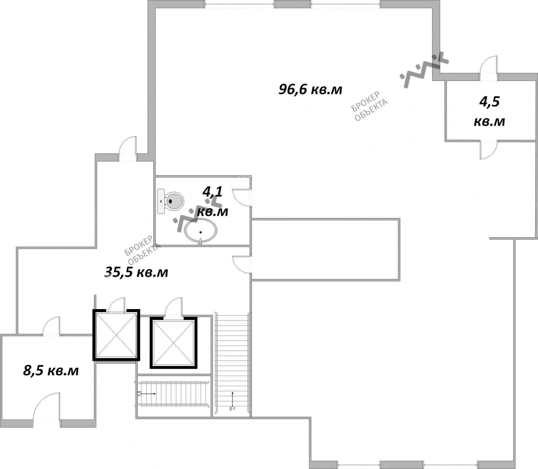 Планировка Беринга ул., д.5. Лот № 2082051