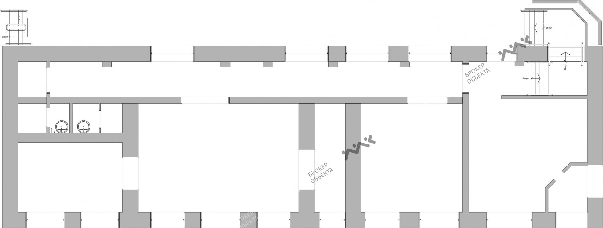 Планировка 8-я В.О. линия, д.59, к.2. Лот № 1399194