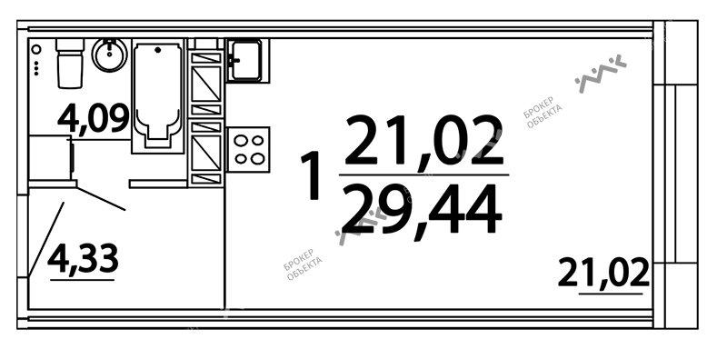 Планировка Александра Невского пл., д.10. Лот № f3262808