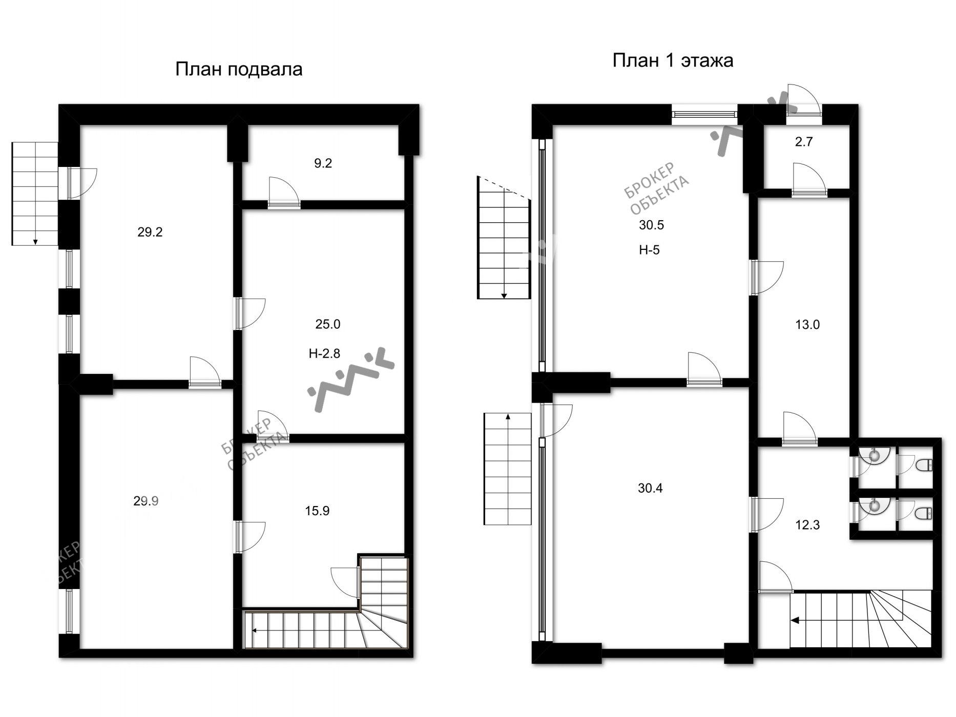 Планировка Большеохтинский проспект, д.9. Лот № 1777056