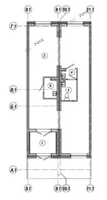 Планировка Красуцкого ул., д.5. Лот № 1503870