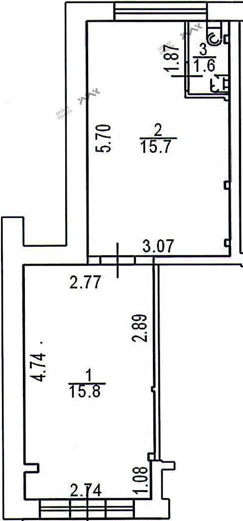 Планировка Энгельса пр., д.115. Лот № 1568986
