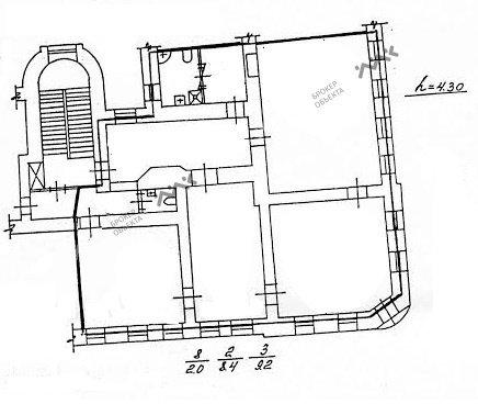 Планировка Невский проспект, д.43. Лот № 759574
