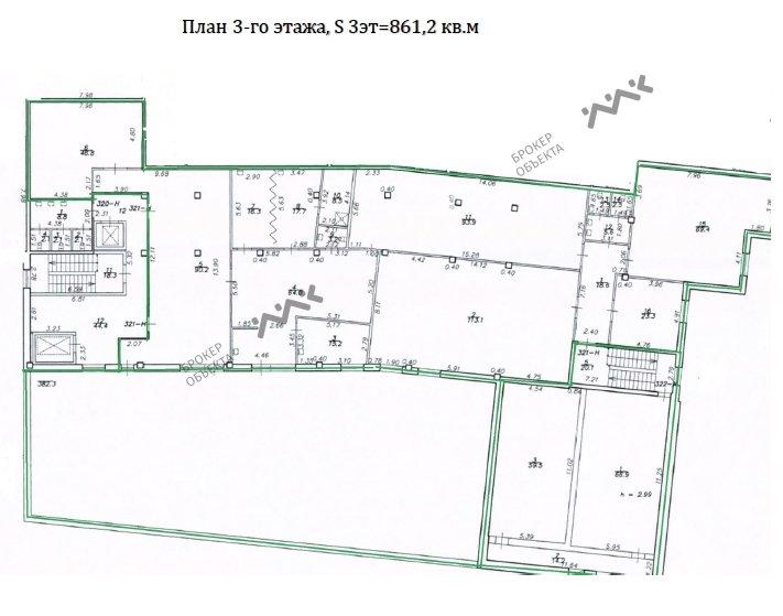 Планировка Вязовая ул., д.8. Лот № 1681336