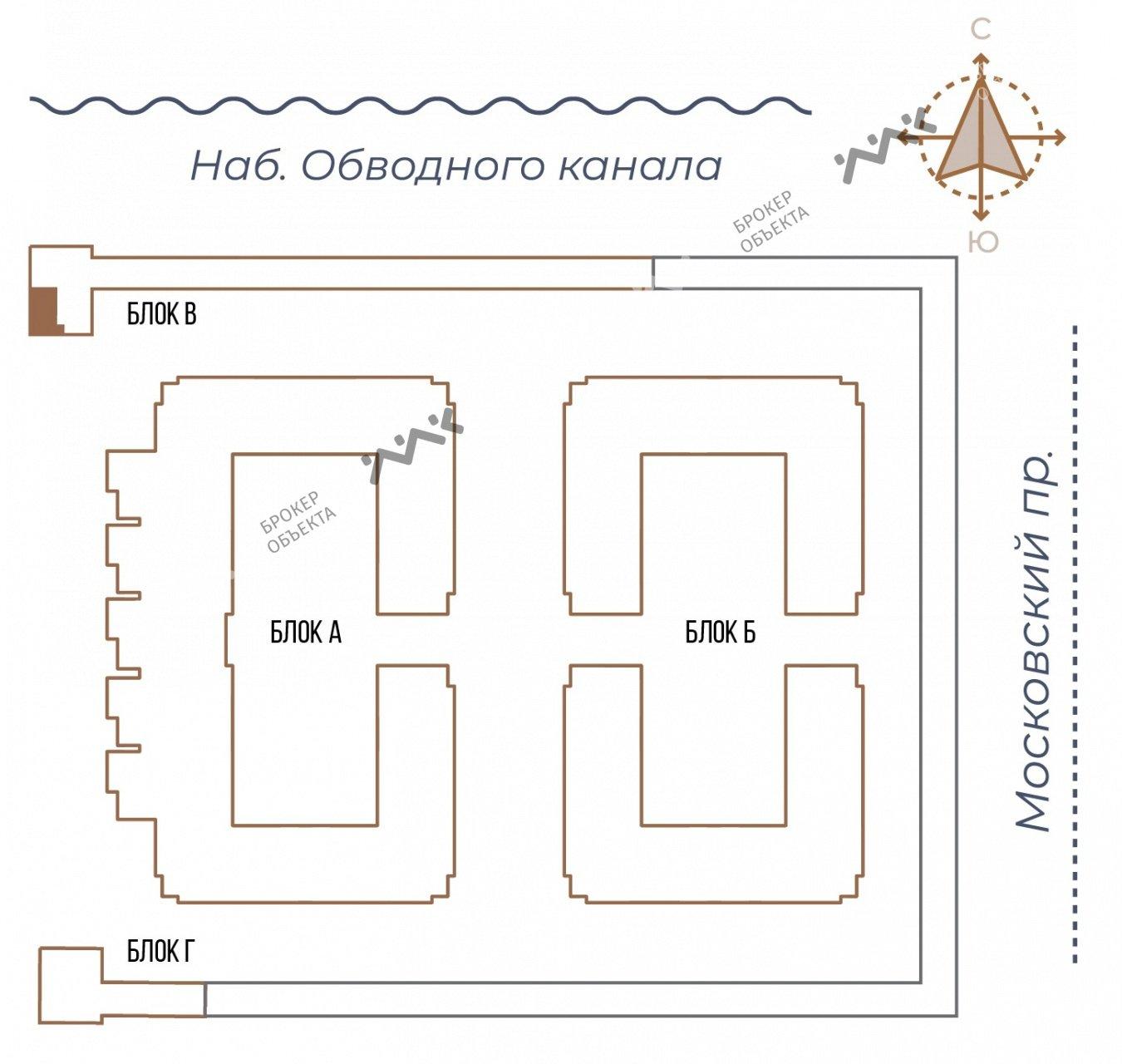 Планировка Московский проспект, д.65. Лот № 27734040
