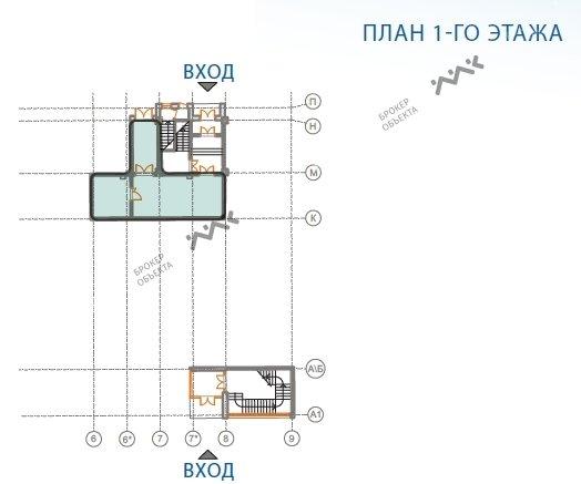 Планировка Пулковское ш., д.14, лит.Е. Лот № 1612281