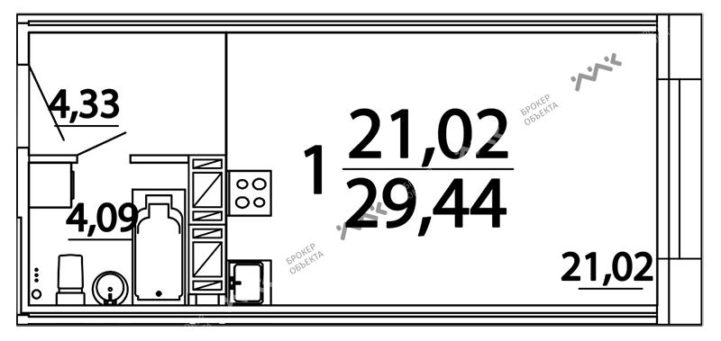 Планировка Александра Невского пл., д.10. Лот № f3262833