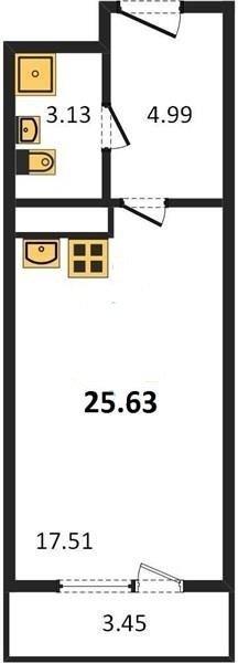 Планировка Московский проспект, д.97. Лот № 26562207