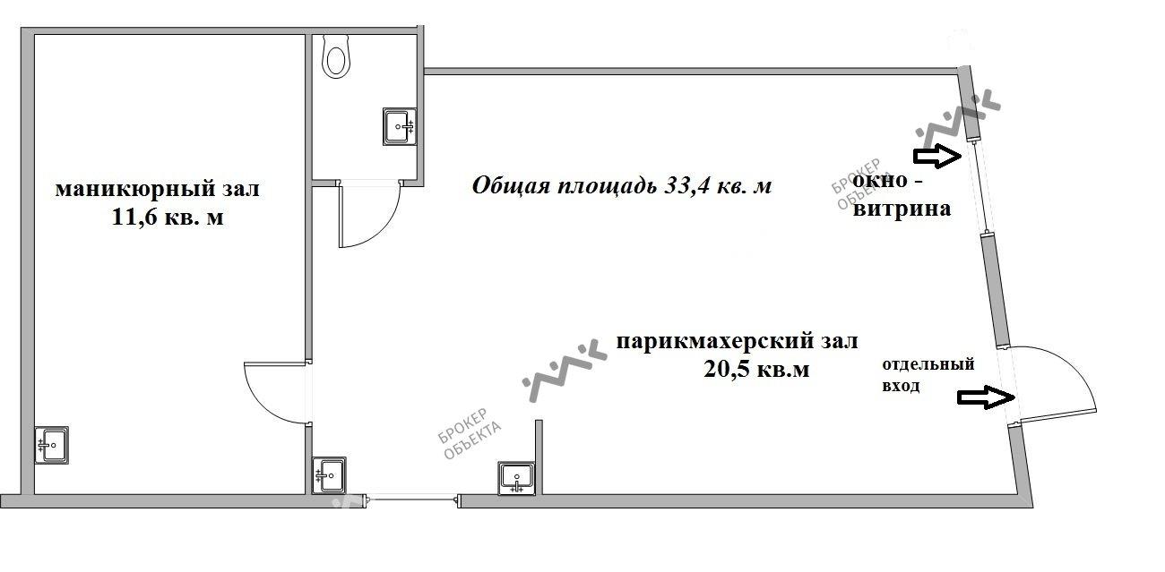 Планировка Мытнинская ул., д.18, лит.А. Лот № 3556194